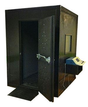 اتاقک ادیومتری و کابین تست شنوایی سنجی