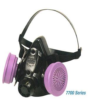 ماسک-شیمیایی-نیم-صورت-۷۷۰۰-NORTH–1سیلیکونی-